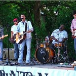 One Mile South performs at th Tupelo Elvis Festival