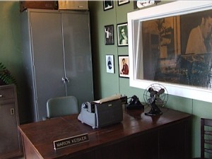 Marion Keisker's office at Sun Studio