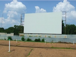 Screen 2 of the Summer Drive In where we viewed The Proposal