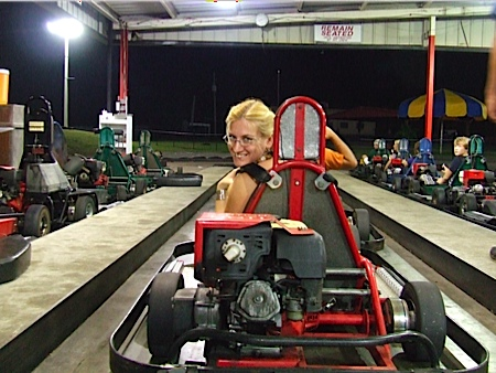 Go Carts at Putt Putt Golf and Games – The Traveling Twosome