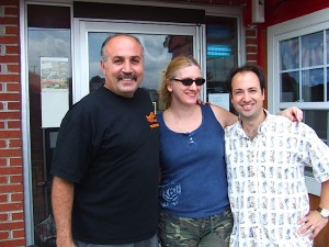 The Traveling Twosome with Adam, owner of Tom's BBQ