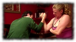 The Traveling Twosome Battle of the Sexes Arm Wrestling Match