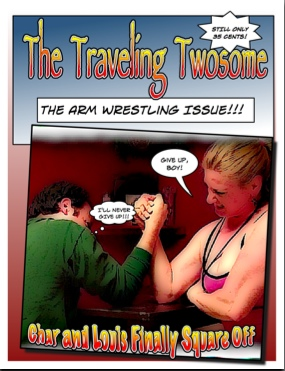 The Traveling Twosome comic book