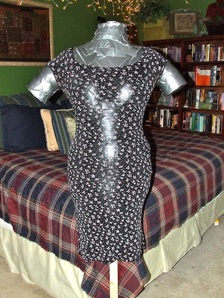 The Duct Tape Dress Form is
