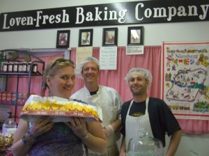 Char and the staff of the Loven-Fresh Baking Company