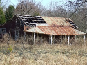 Char and I let our imaginations run wild as we explored this abandoned property