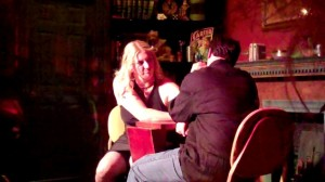 Louis and Char arm wrestling live in Hot Springs