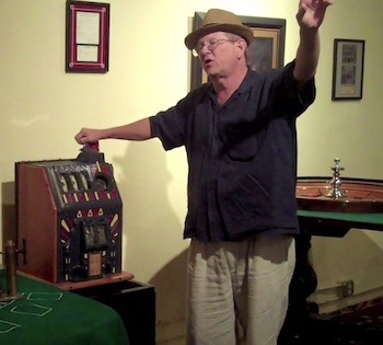 Bobby Graham takes us on a tour at The Gangster Museum of America