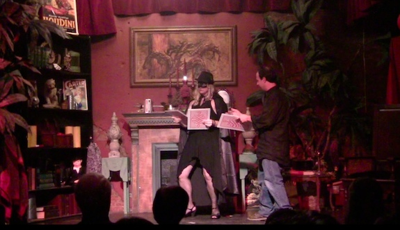 Louis and Char spend A Day in the Life of a Magician at Maxwell Blade's Magic Theatre in Hot Springs.