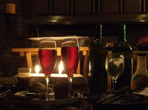 Some of our most memorable date nights are spent at home with a romantic meal.