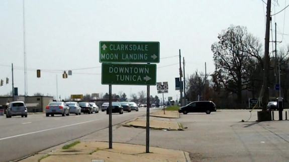 Who knew the moon landing was really in Mississippi?