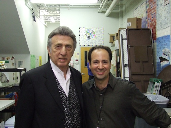 Louis Magnifico and D J Fontana