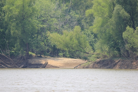 There are places along the White River where you'll feel like you're a castaway on a deserted island!