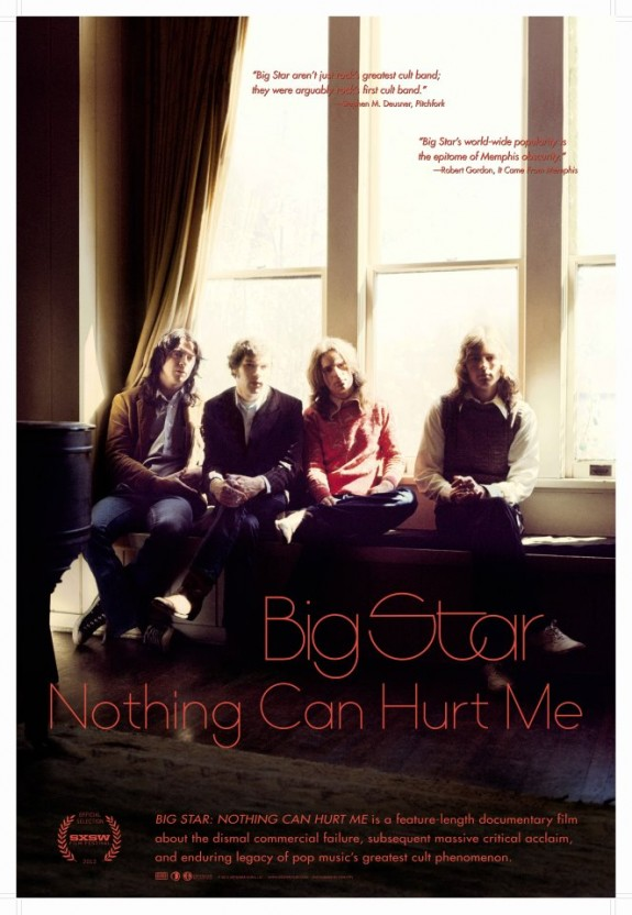 Big Star: Nothing Can Hurt Me - Watch for our interview with filmmaker Drew DeNicola coming soon on our radio show