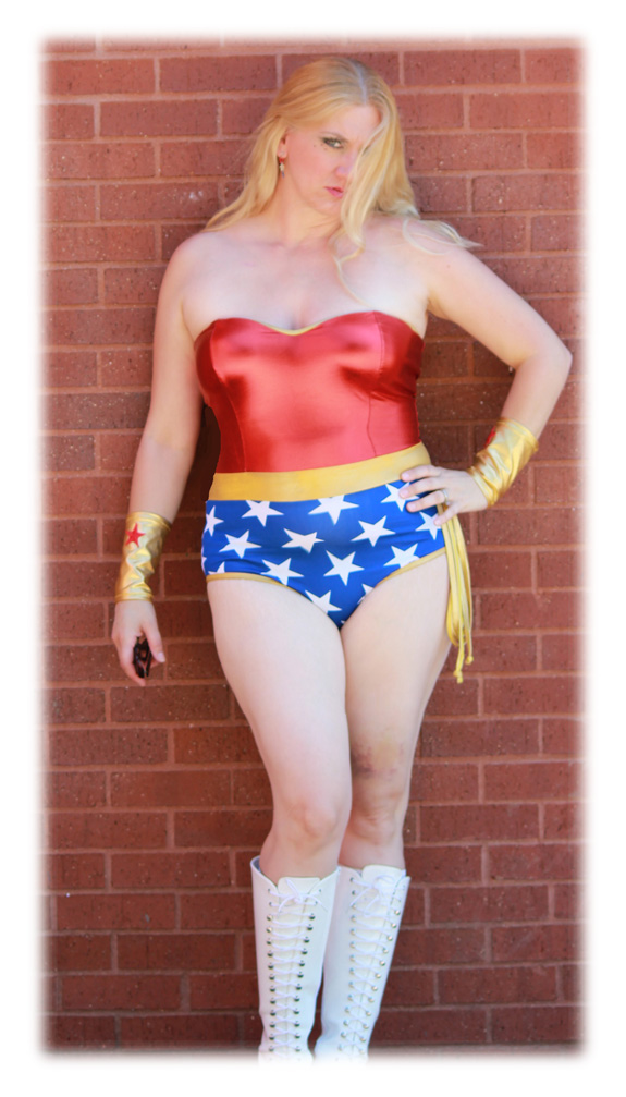 Char Magnifico as Wonder Woman