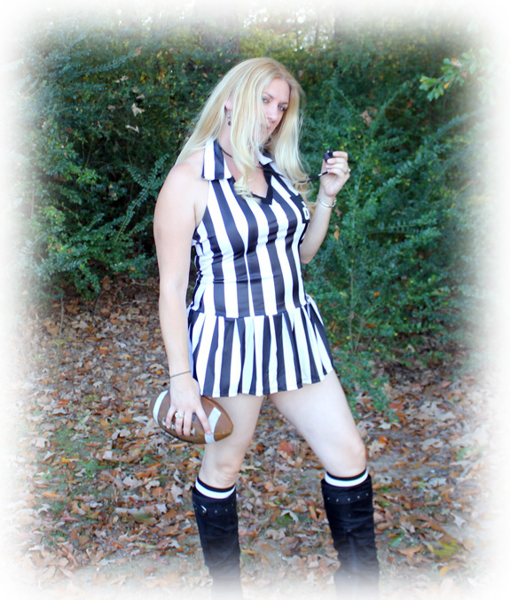 Char Magnifico in the referee costume.