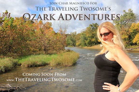 "Watch for our special ""The Traveling Twosome: Ozark Adventures"" coming soon to our Roku TV Channel and online!"
