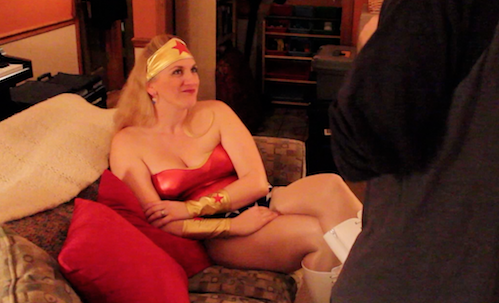 Char Magnifico in a scene from Halloween Candy