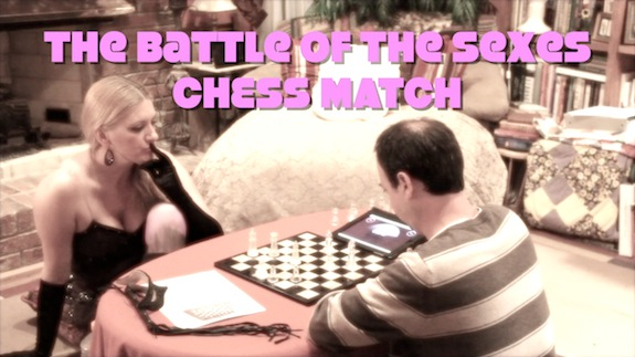 Battle of the Sexes Chess Match
