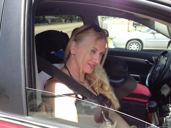 Char in a Car