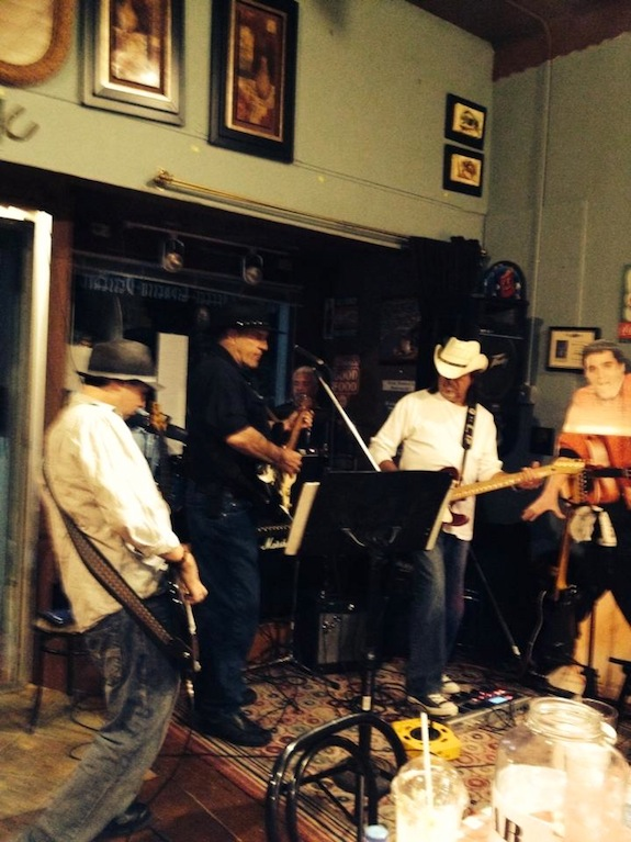 Jamming with friends in Covington, TN