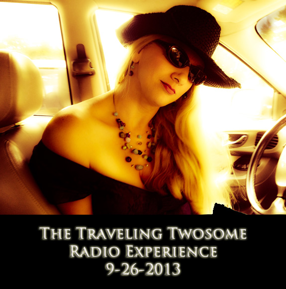 Char Magnifico and The Traveling Twosome Radio Experience