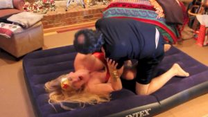 Wonder Woman - Mixed Wrestling and Mixed Arm Wrestling Video Download Starring Char Magnifico