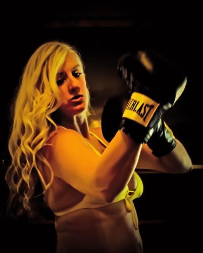 Char Magnifico - female boxer