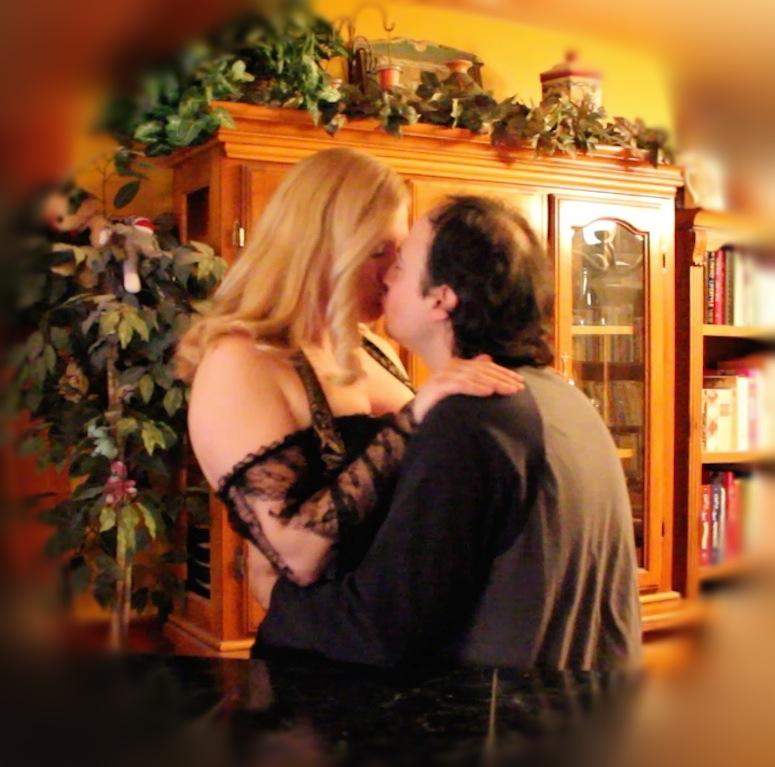A Post Match Congratulatory Kiss