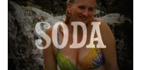 Soda - The Official Beverage of Hot Blondes in Bikinis (a fake commercial)