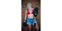 Char - Wonder Woman Bikini Boxing Photos - Set 1